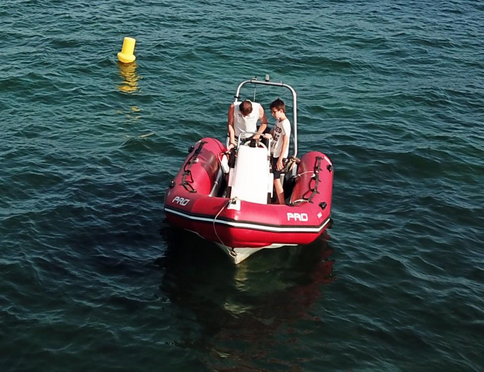Schlauchboot mieten in Grimaud - Zodiac Pro 500