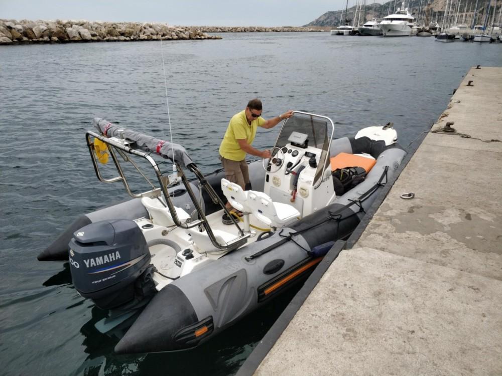 Bootsverleih Marseille günstig Pro Open 550