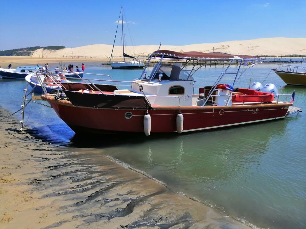 Motorboot mit oder ohne Skipper Beacher mieten in Arcachon
