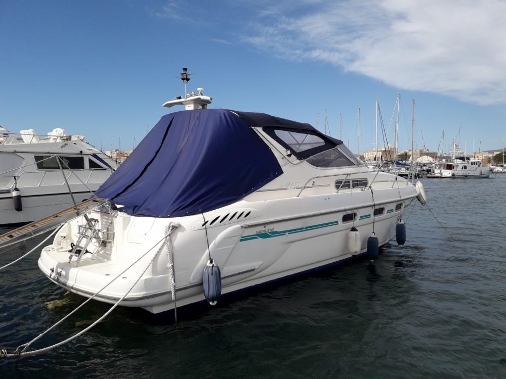 Motorboot mit oder ohne Skipper Sealine mieten in Trapani