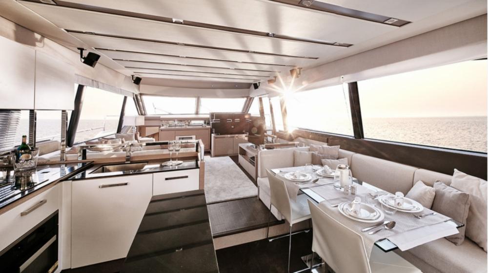 Vermietung Motorboot Prestige mit Führerschein