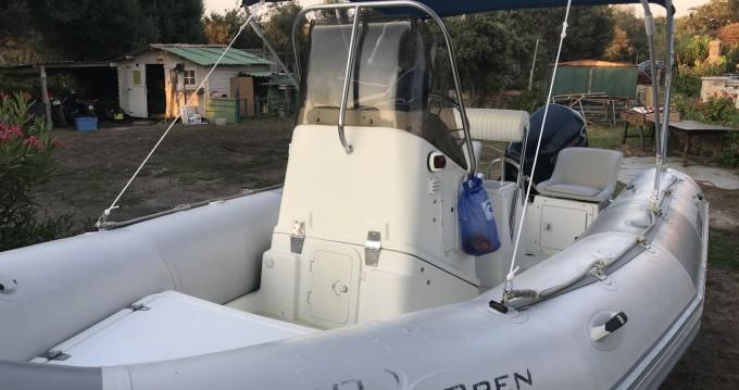 Schlauchboot mit oder ohne Skipper Zodiac mieten in Bonifacio