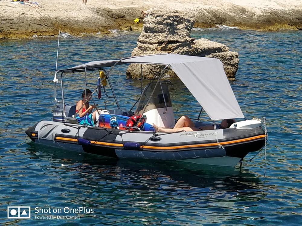 Schlauchboot mit oder ohne Skipper Zodiac mieten in Marseille