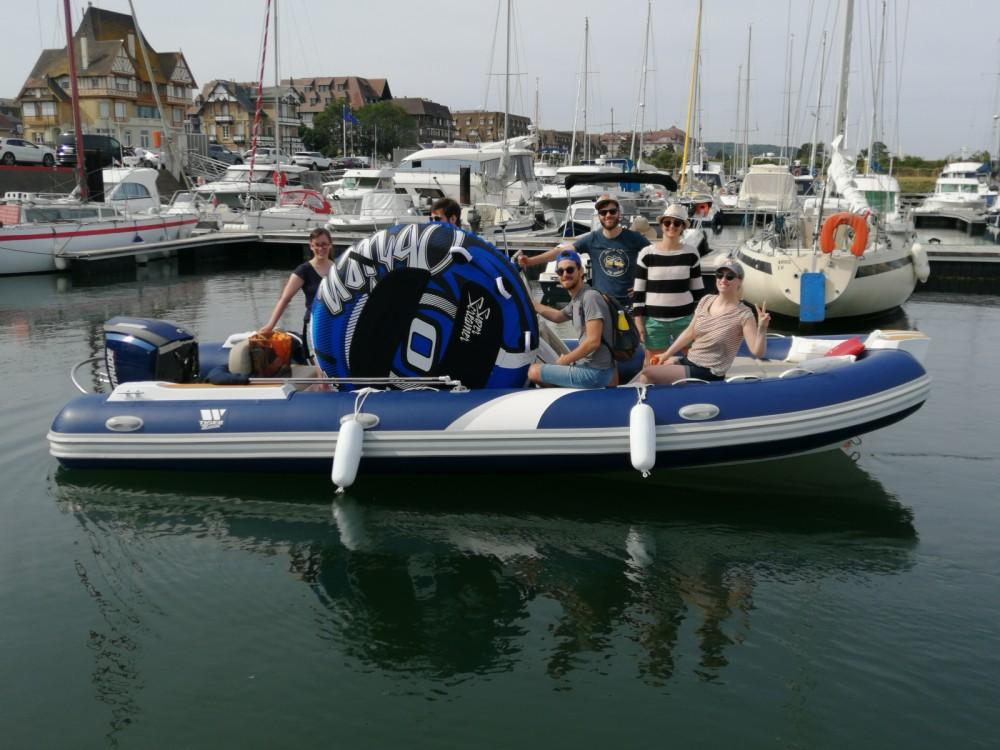 Schlauchboot mieten in Deauville - Tiger Proline 620