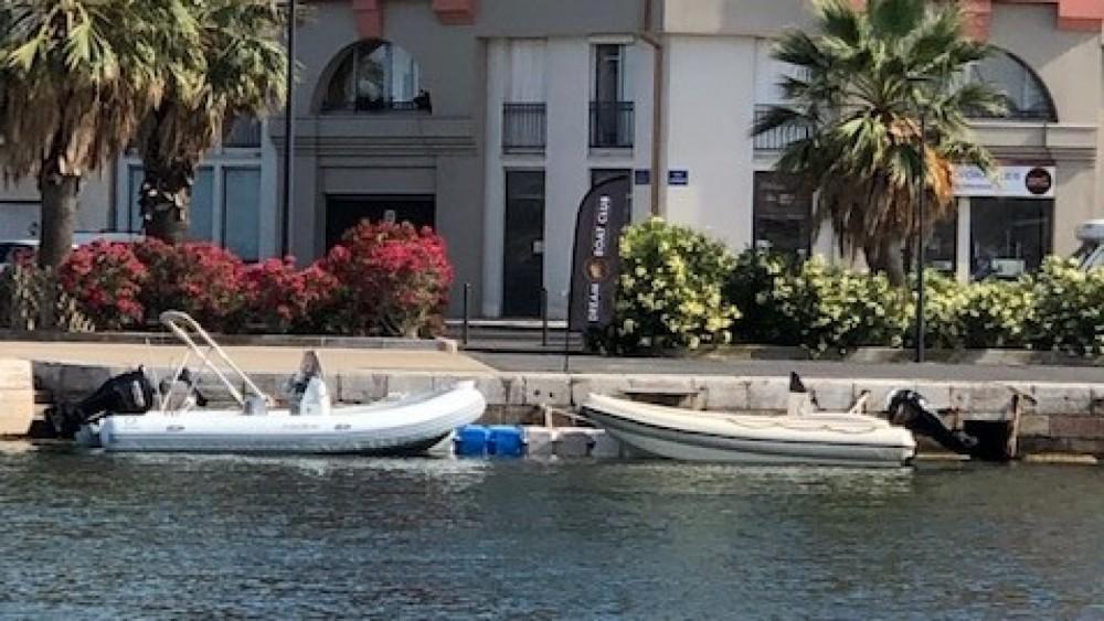 Schlauchboot mit oder ohne Skipper Zodiac mieten in Sète
