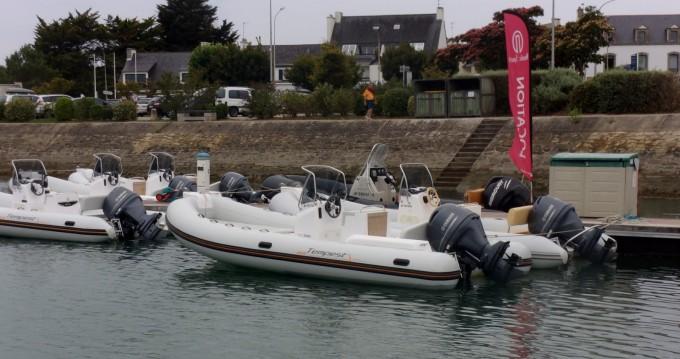 Capelli Tempest 625 zwischen Privatpersonen und professionellem Anbieter La Trinité-sur-Mer