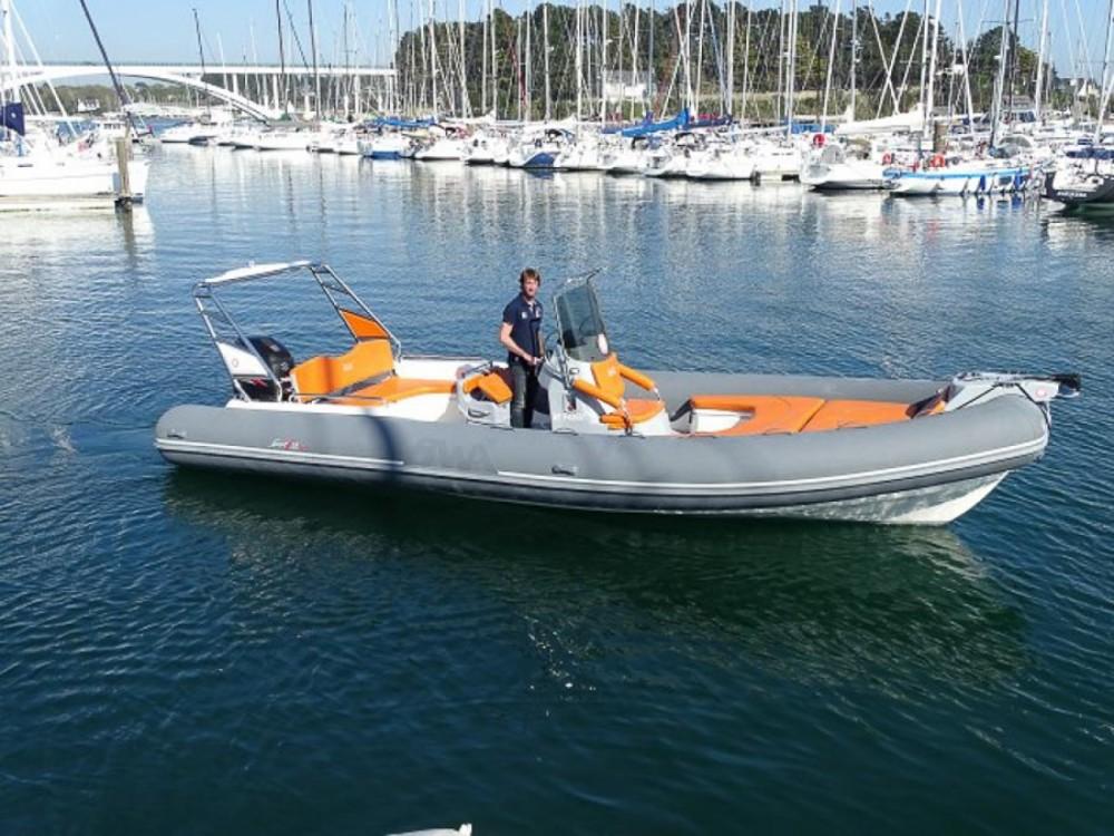 Schlauchboot mieten in La Trinité-sur-Mer - Bwa Sport 28 GTc