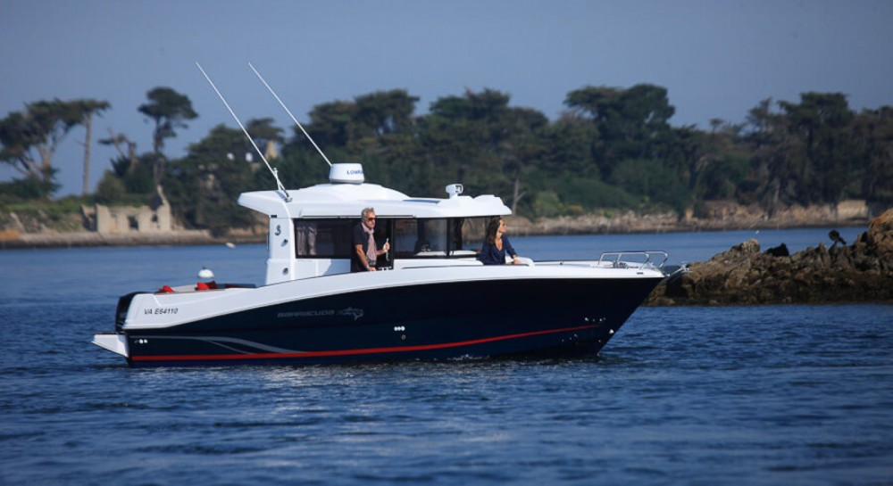 Motorboot mieten in La Trinité-sur-Mer - Bénéteau Barracuda 9