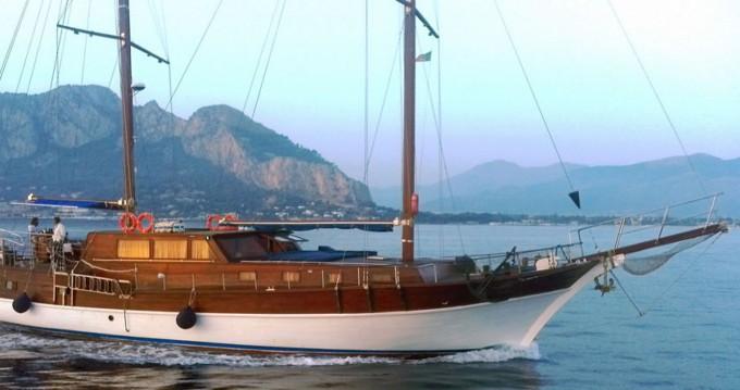 Vermietung Segelboot goletta mit Führerschein