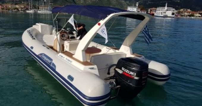 Schlauchboot mit oder ohne Skipper Capelli mieten in Lefkada (Island)