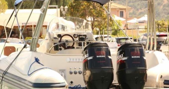 Vermietung Schlauchboot Vicror mit Führerschein