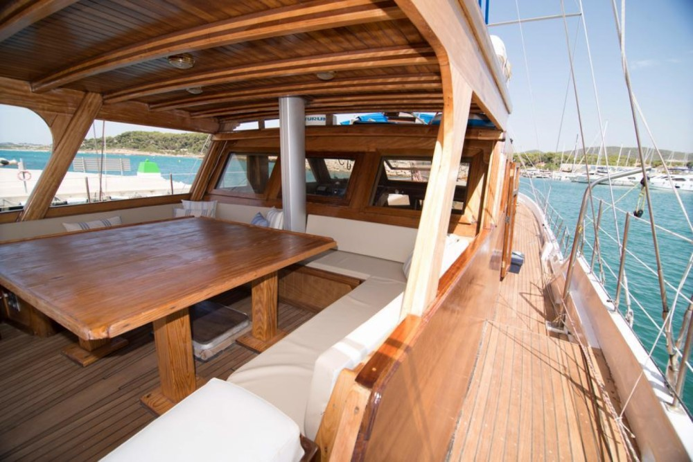 Yacht-Charter in Ibiza-Stadt - Gulet Turkish auf SamBoat