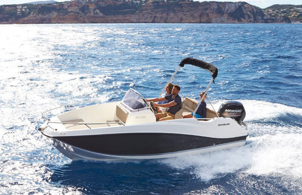 Motorboot mieten in Dubrovnik - Quicksilver Activ 555 Open