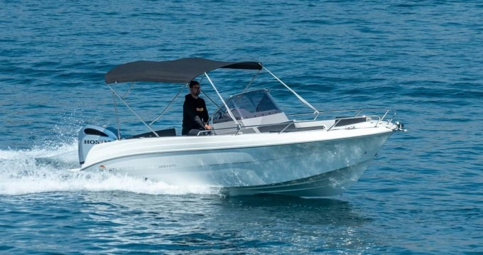 Ein Atlantic open 670 mieten in Trogir