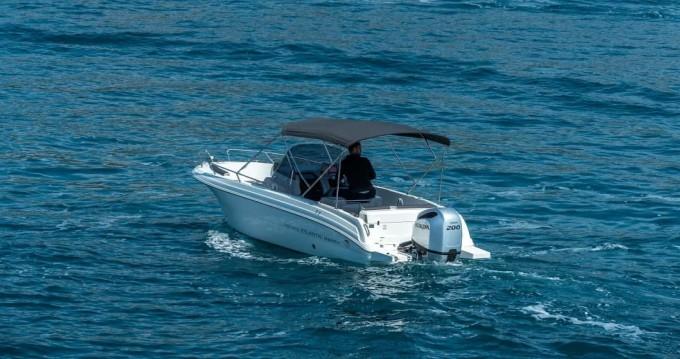 Atlantic open 670 zwischen Privatpersonen und professionellem Anbieter Trogir