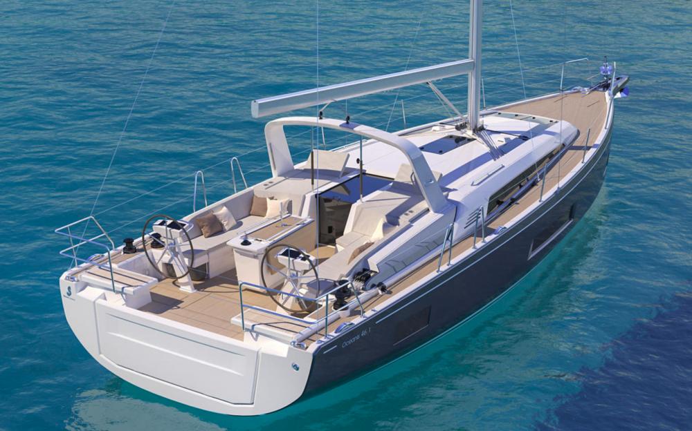 Bootsverleih Bénéteau Oceanis 46.1 - 4 cab.  Samboat