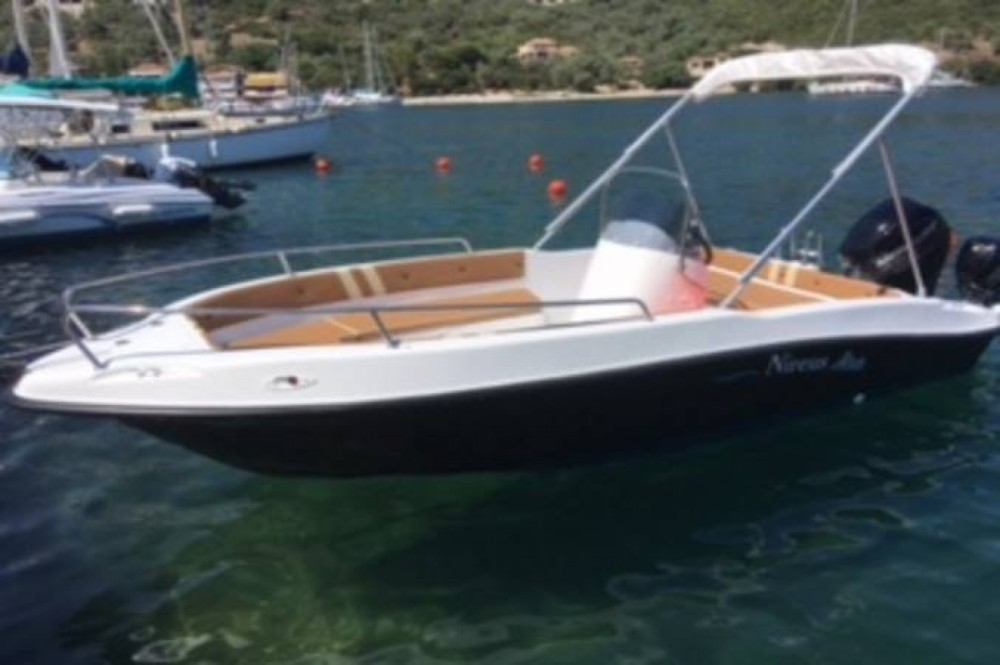 Motorboot mit oder ohne Skipper nireus mieten in Sivota