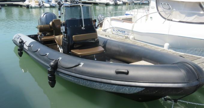 Vermietung Schlauchboot Ribwest mit Führerschein