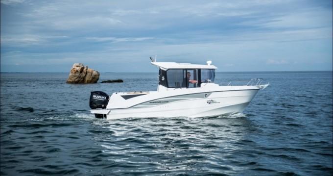 Bootsverleih Port du Crouesty günstig Barracuda 7