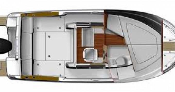 Motorboot mieten in Port du Crouesty - Bénéteau Barracuda 7