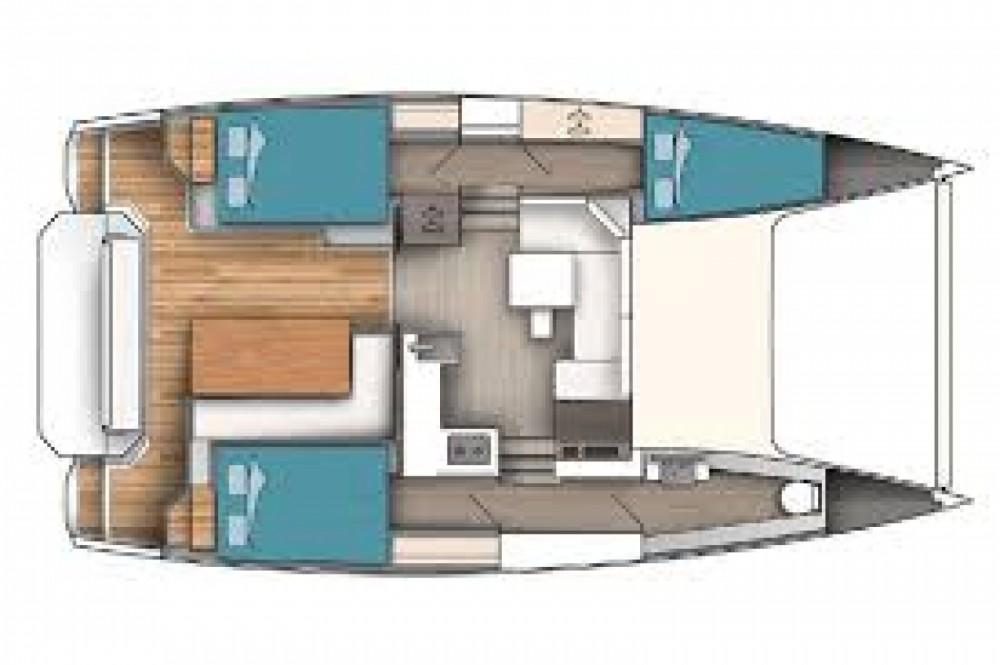 Katamaran mit oder ohne Skipper Aventura mieten in Arzon