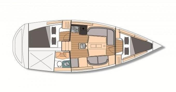 Bootsverleih Kirie Feeling 32 Di Port du Crouesty Samboat