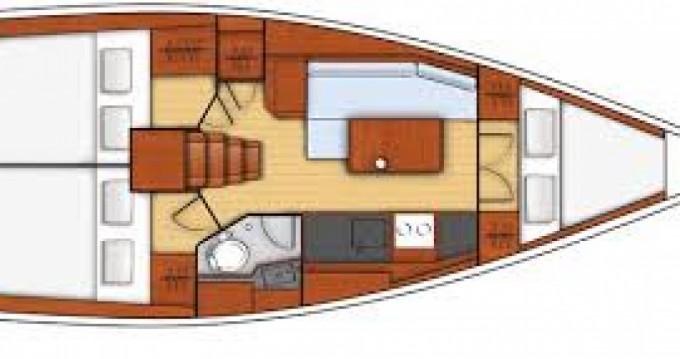 Bootsverleih Port du Crouesty günstig Oceanis 35.1