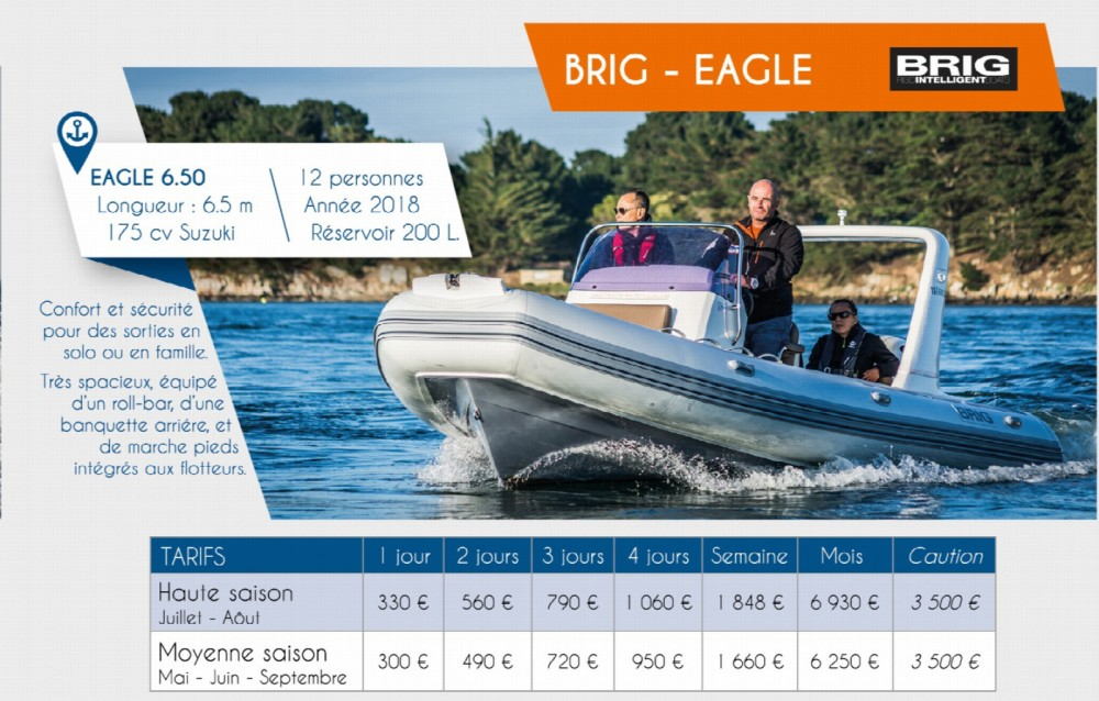 Yacht-Charter in Arzon - Brig Eagle 650 auf SamBoat