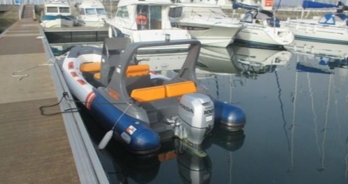 Schlauchboot mit oder ohne Skipper Notys-Pro mieten in Arzon