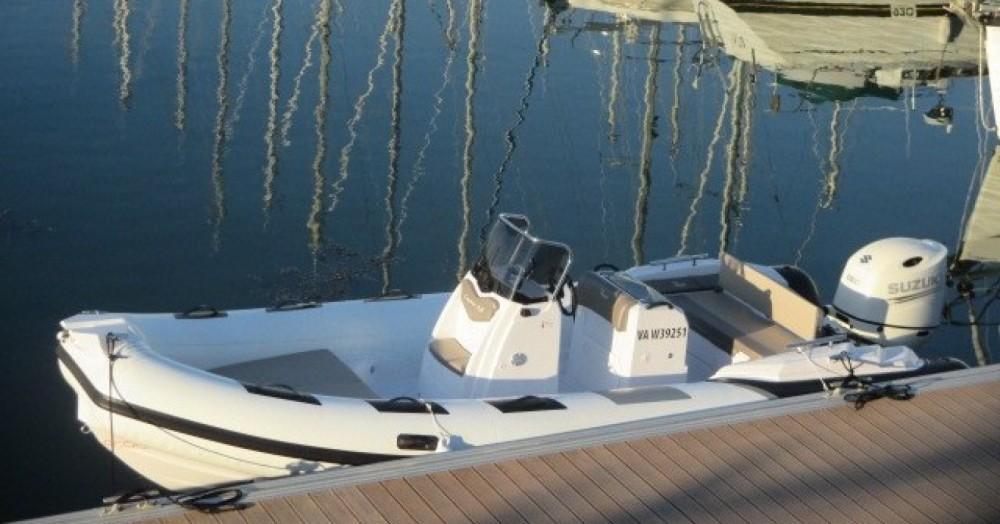 Schlauchboot mieten in Arzon - Ranieri Cayman 21 Sport
