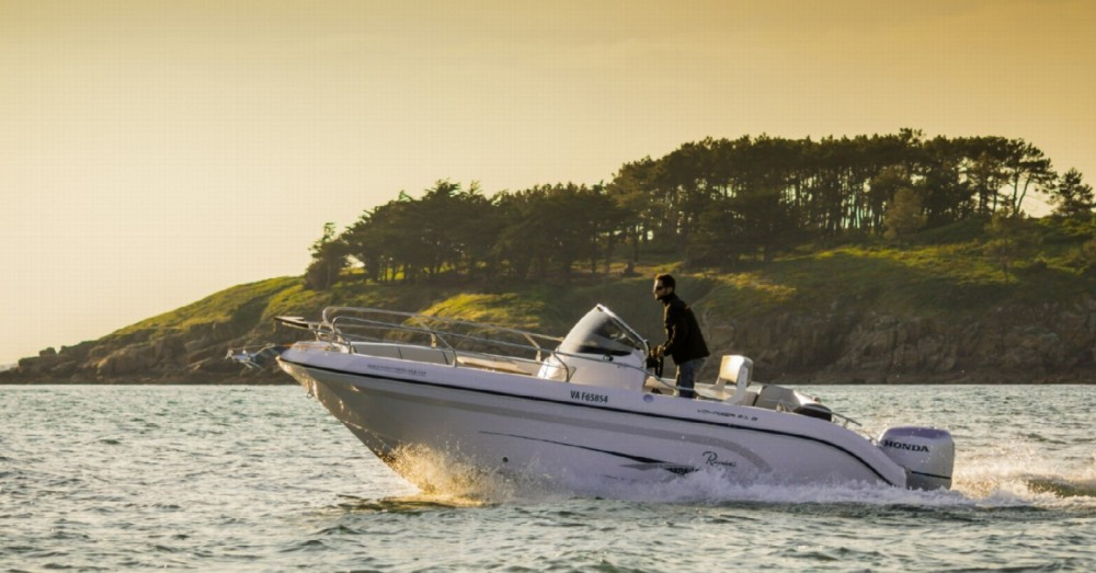 Ranieri Voyager 21 S zwischen Privatpersonen und professionellem Anbieter Arzon