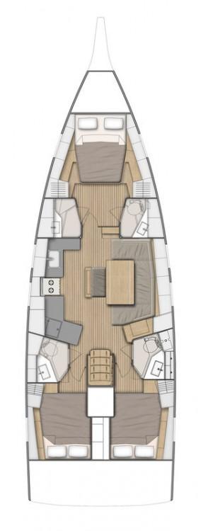 Yacht-Charter in Göcek - Bénéteau Oceanis 46.1 - 3 cab. auf SamBoat
