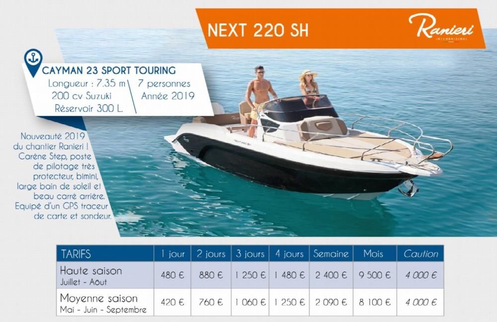 Bootsverleih Arzon günstig Next 220 SH