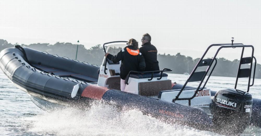 Vermietung Schlauchboot Vanguard Marine mit Führerschein