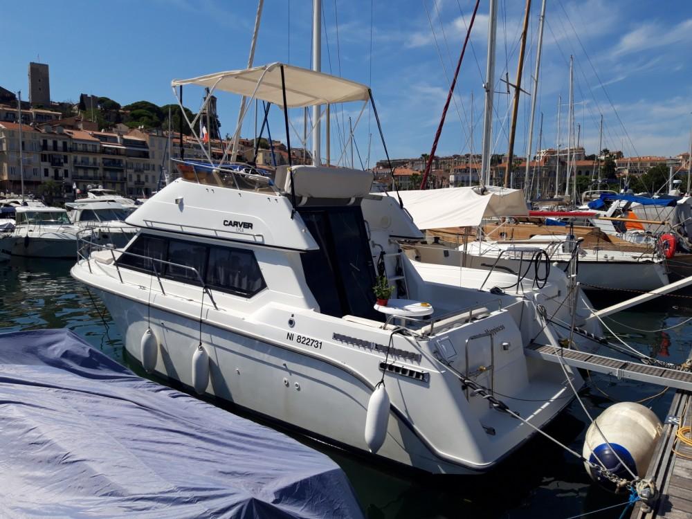 Bootsverleih Carver Carver 26 flybridge Cannes Samboat