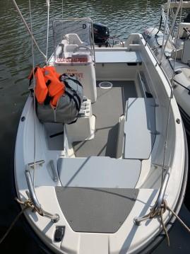 Vermietung Motorboot Terhi mit Führerschein