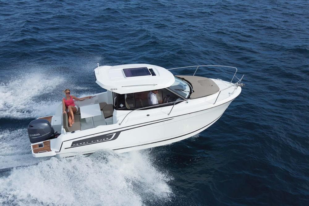 Motorboot mit oder ohne Skipper Jeanneau mieten in Marseille