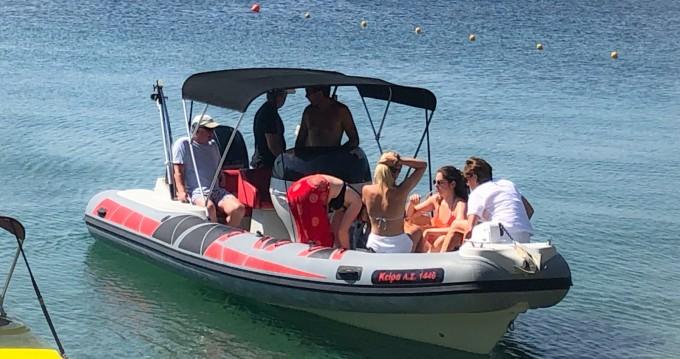 Schlauchboot mit oder ohne Skipper RIB STINGHER 700GT MERCURY  mieten in Skiathos