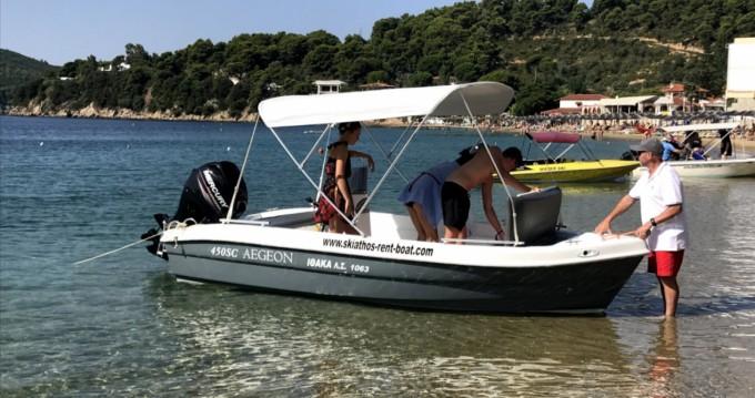 Vermietung Motorboot Zaggas Marine  mit Führerschein