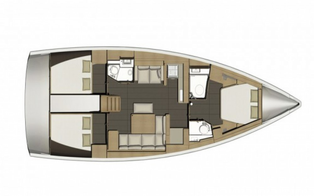 Segelboot mieten in Cogolin - Dufour Dufour 460 Grand Large