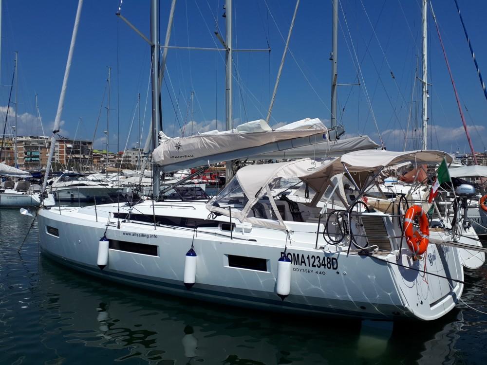 Bootsverleih Jeanneau Sun Odyssey 440   Nettuno Samboat