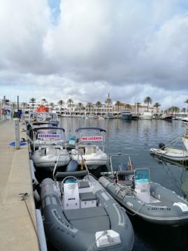 Yacht-Charter in Formentera - navilux rib 3,90 auf SamBoat