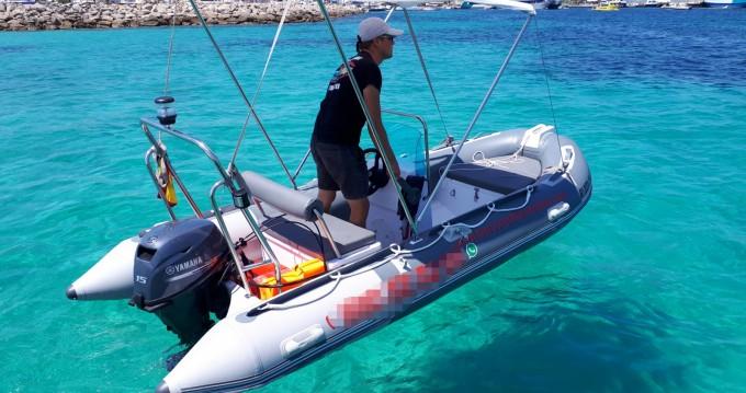 navilux rib 3,90 zwischen Privatpersonen und professionellem Anbieter Formentera