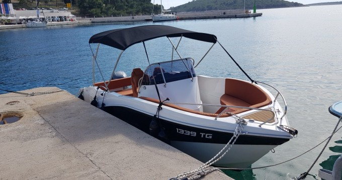 Motorboot mieten in Trogir - Okiboats Barracuda 545 Open