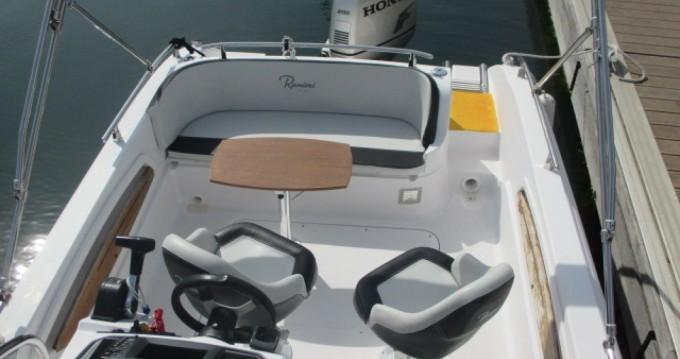 Motorboot mieten in Arzon - Ranieri Atlantis 22
