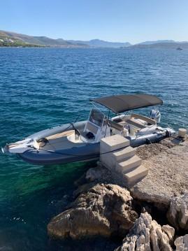 Schlauchboot mit oder ohne Skipper Marlin Boat mieten in Trogir