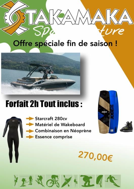 Ein Starcraft Starcraft 210 SCX Surf Series mieten in Aix-les-Bains