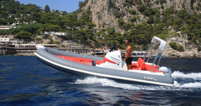 Vermietung Schlauchboot 2 BAR mit Führerschein