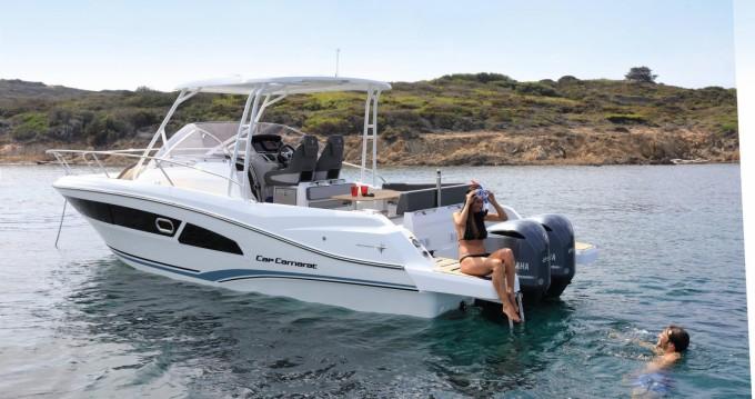 Motorboot mit oder ohne Skipper Jeanneau mieten in Bastia