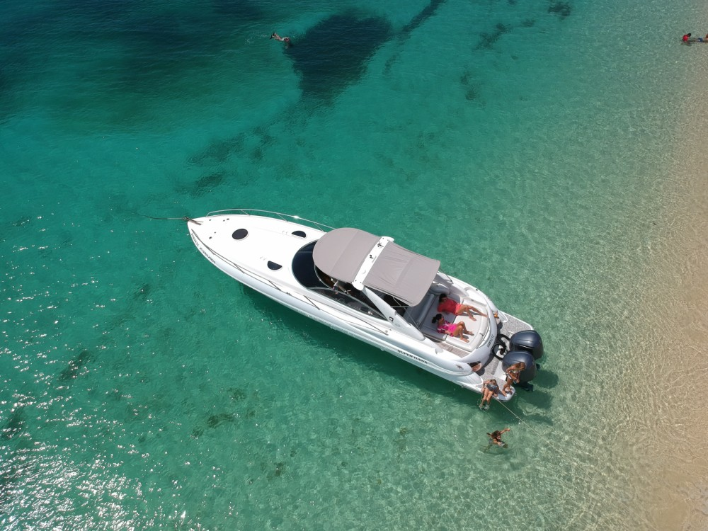 Motorboot mieten in Simpson Bay - Sunseeker Superhawk 40